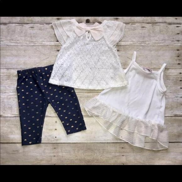 Little Lass 3 pc Outfit 12 Months